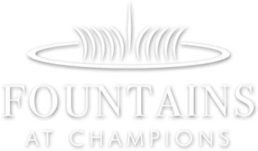 Fountains at Champions logo